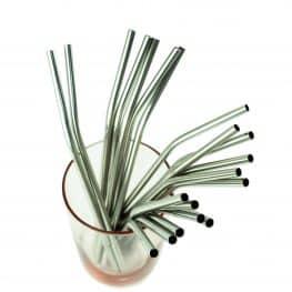 Angled Reusable Straw