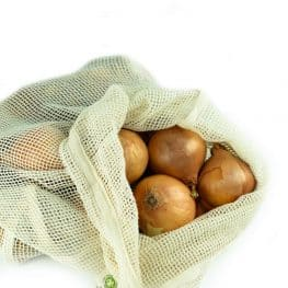 Large mesh bags are ideal for potatoes