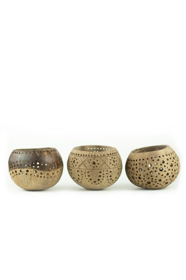 set of 3 tea lights
